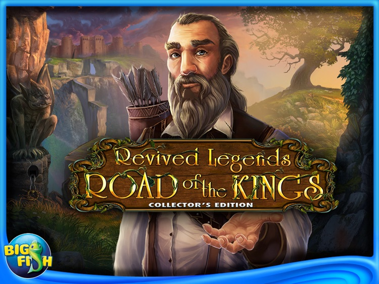 Revived Legends: Road of the Kings HD - A Hidden Objects Adventure screenshot-4