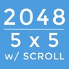 2048 5x5 with SCROLL - iPhoneアプリ