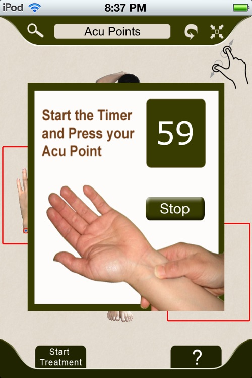 AcuPressure: Visually Interactive Self Treatment