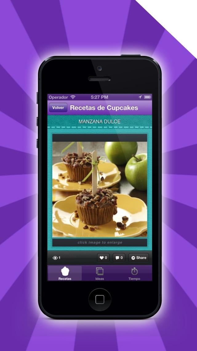 Screenshot for Los Mejores Recetas de Cupcakes in Venezuela App Store