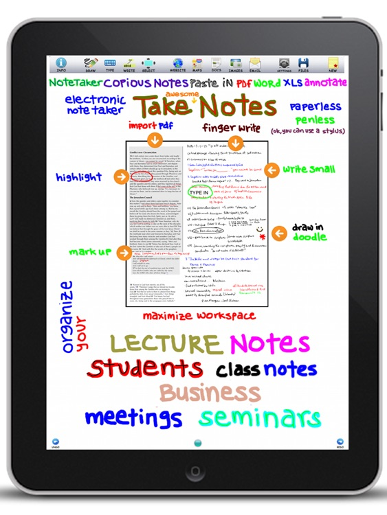 epiNote HD note taker screenshot-3