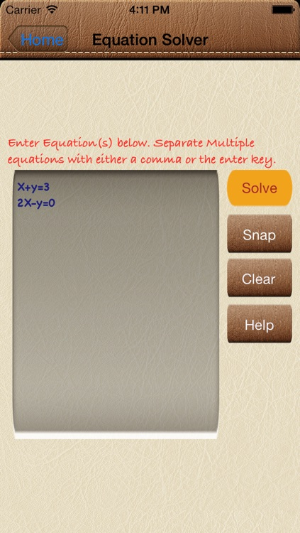 Solve4x Math Equation Solver