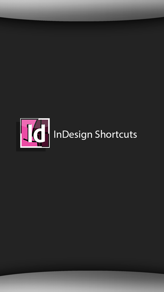 Shortcuts for InDesign 2.1 IOS
