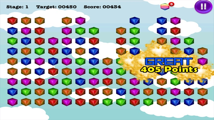 Bubble Cube Pop Mania screenshot-3