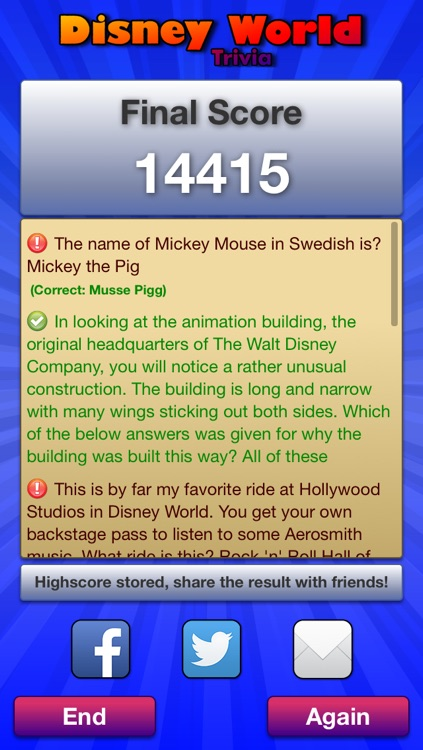 Trivia for Disney World screenshot-3