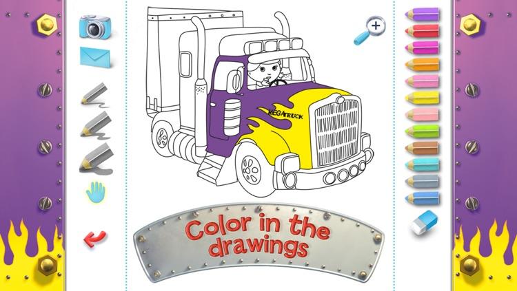 Chuck's big truck - Little Boy screenshot-4