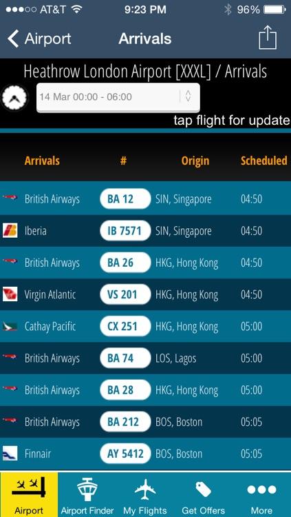 Heathrow Airport Flight Tracker