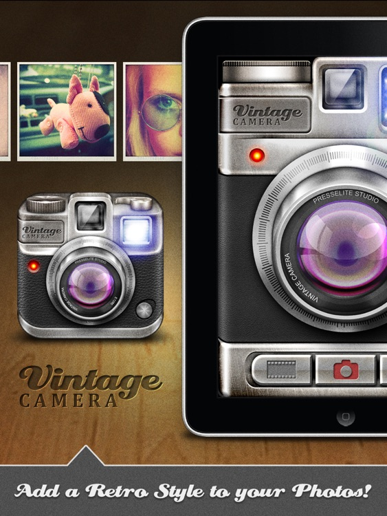 Vintage Camera Pro for iPad screenshot-0