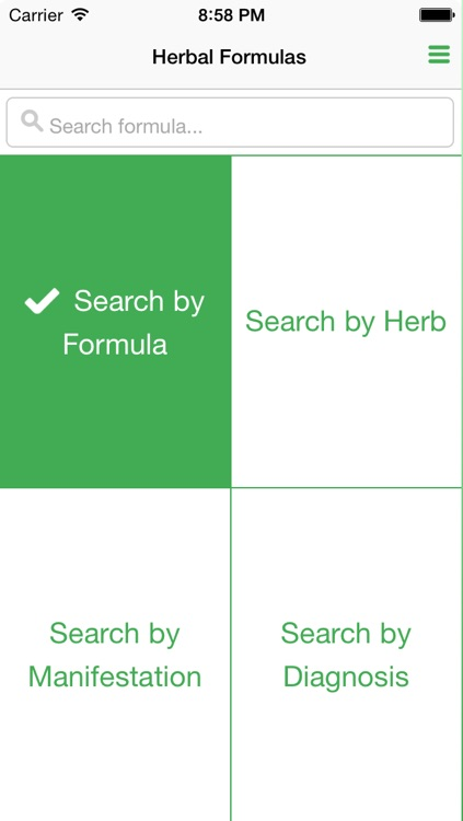 TCM Herbal Formula Library screenshot-0