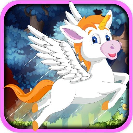 Rainbow Unicorn Jump Race - Jungle Horse Bounce Rush Pro