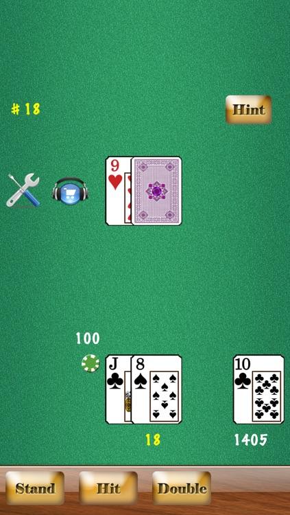 Blackjack Free HD screenshot-3