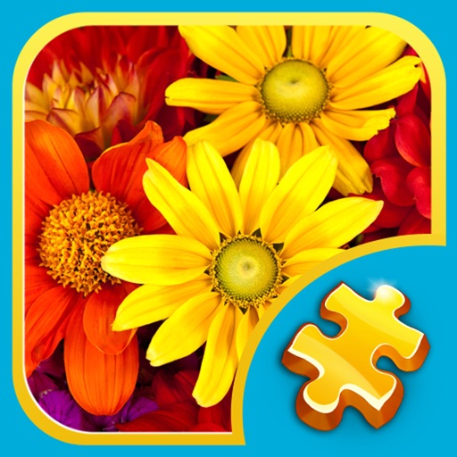 Jigsaw Puzzles: Flowers