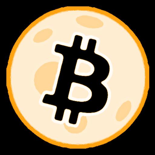 Bitcoin Ticker - To the Moon!