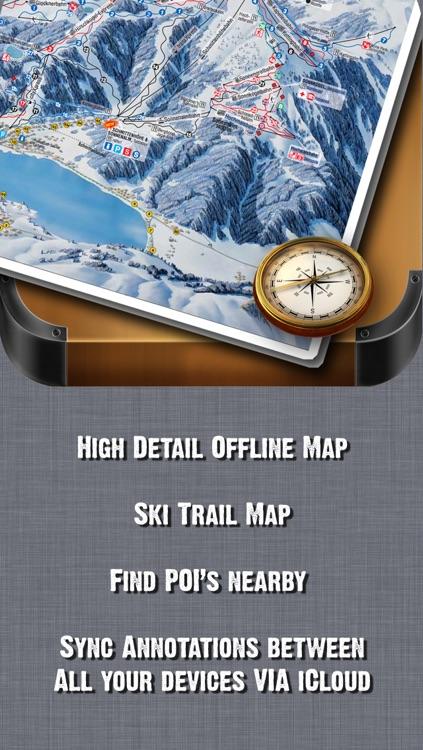 Portes du Soleil Ski and Offline Map