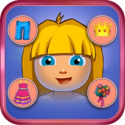 Little Girl Explorer and Funky Monkey - Free Kids Dressing Up Game