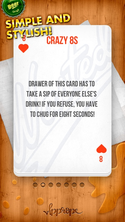KINGS - the drinking game ( Ring of Fire / King's Cup ) screenshot-3