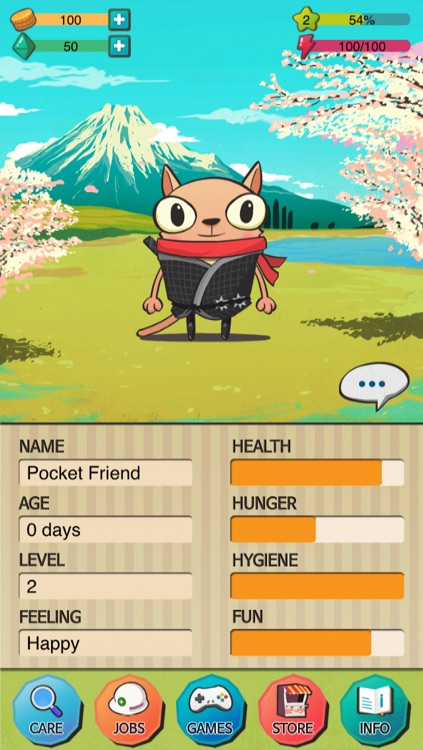 Pocket Friend - Virtual Pet