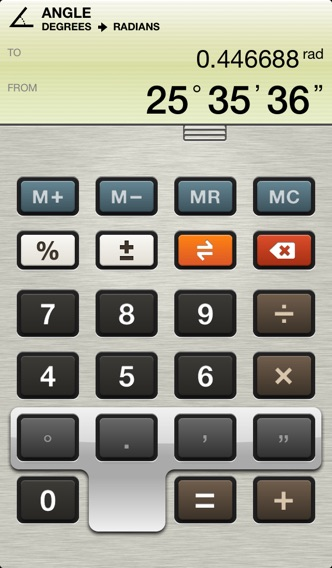 Units - Unit Converter for your iPhone screenshot two