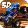 Real Crazy 3D Monster Truck Run: Extreme Offroad Highway Legends- Free Racing Game