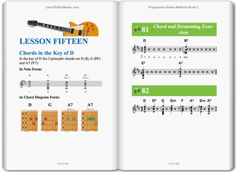 Progressive Guitar Method Book 2 By Learntoplaymusic Gary