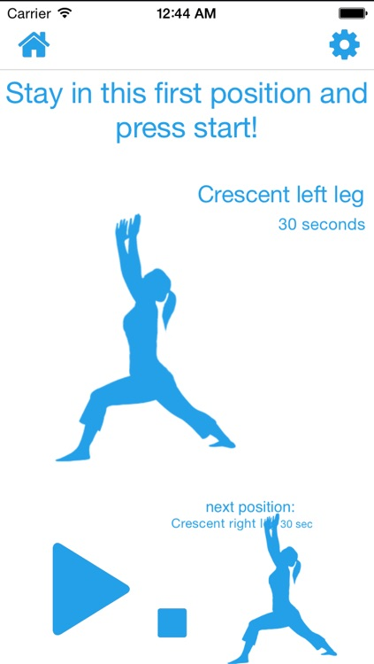 10 Minute Yoga Calisthenics Aerobic Routine Circuit Challenge Interval screenshot-0