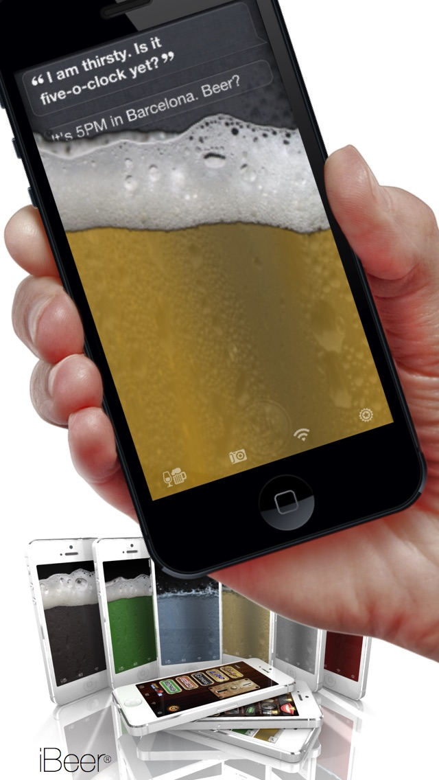 iBeer (5 Beers & Coffee Milk, Champagne, Chocolate, Water, Cola, Celebrity Voices etc. available) Screenshot 2