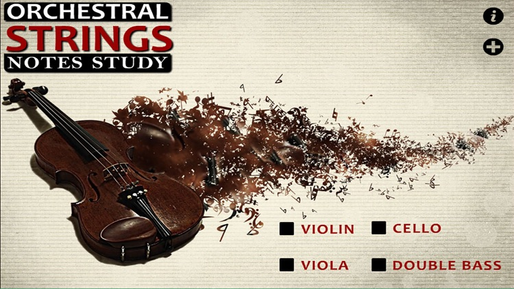 Orchestral Strings (Notes Study for Violin, Viola, Cello and Double Bass)