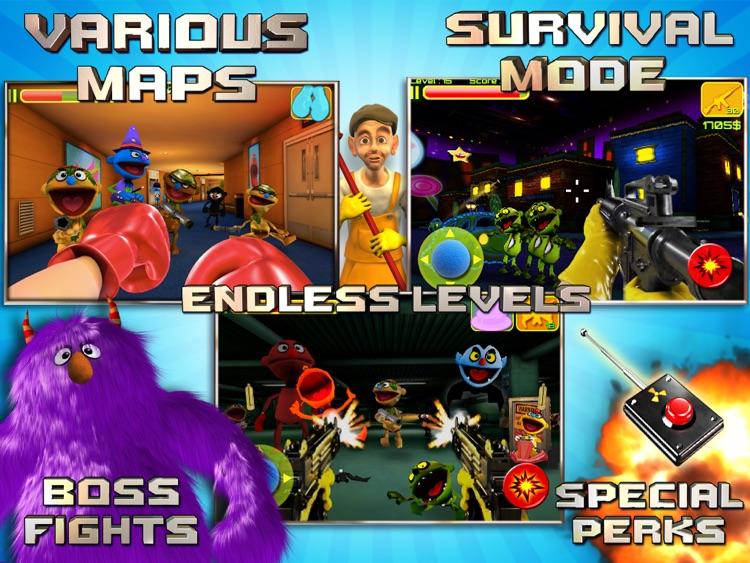 Puppet War HD screenshot-4