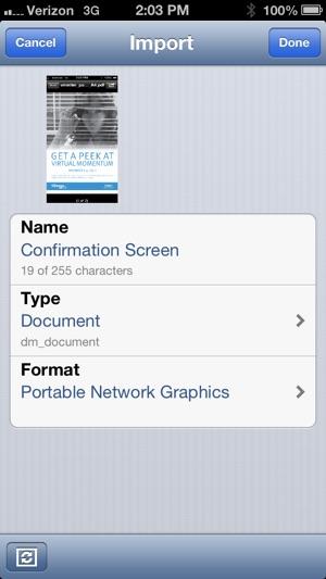 EMC Documentum Mobile on the App Store