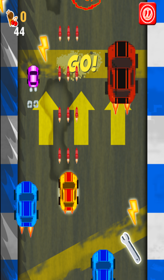 A Sonic Speed Dash - Crazy Micro Speedway Race - Free Racing Gameのおすすめ画像2