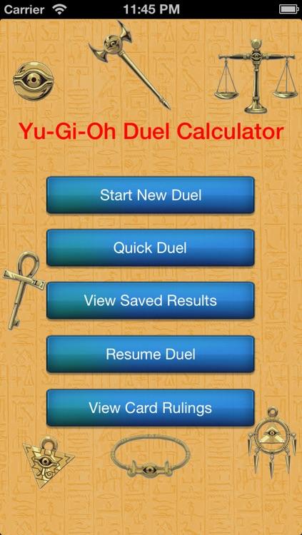 Duel Calculator Yu-Gi-Oh! Edition