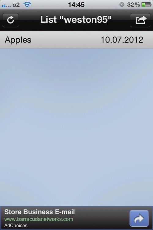 Shared Shopping List screenshot-3