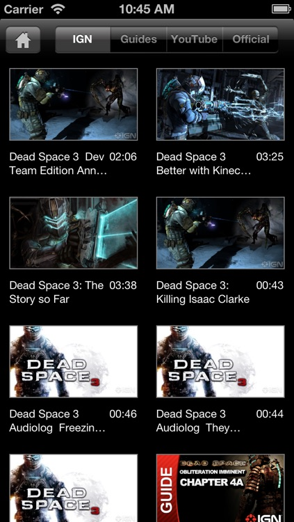 IGN App For Dead Space 3 screenshot-2