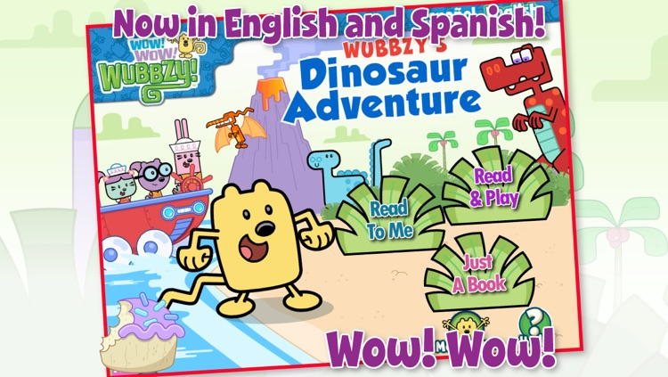 Wubbzy's Dinosaur Adventure screenshot-1