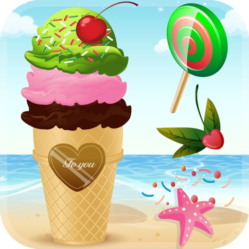 My Little Frozen Ice Cream Sundae Maker Game Advert Free