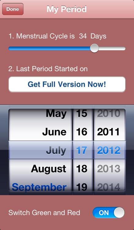 Maybe Baby 2016 Lite - Fertility / Ovulation Diary, Period Tracker, Menstrual Calendar, Pregnancy & Gender Predictor screenshot-3