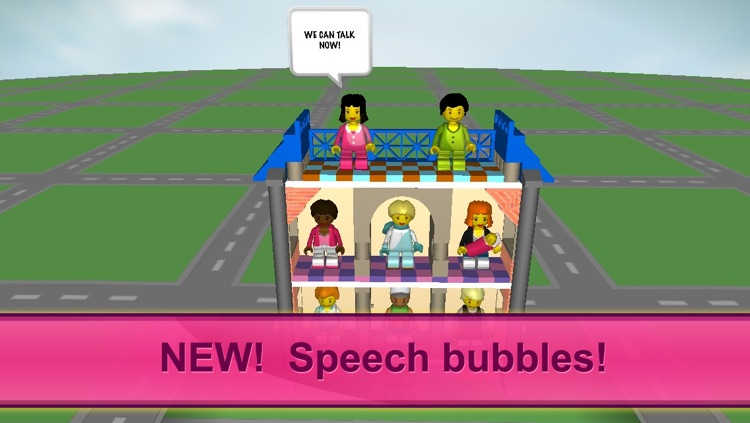 Bloxy Girls. Bricks For Kids screenshot-3