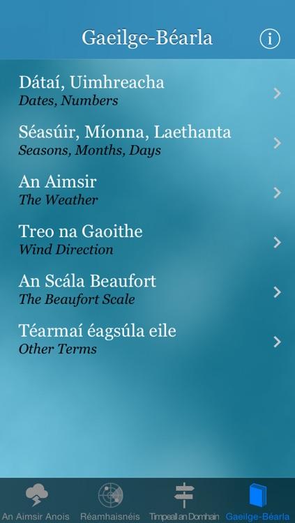 Aimsir - Irish Language Weather Forecast screenshot-3