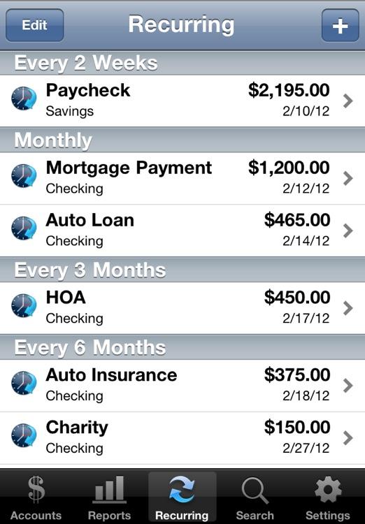 Accounts Lite - Checkbook screenshot-3