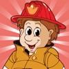 图画书 消防队员儿童:有很多照片像消防员,消防员
