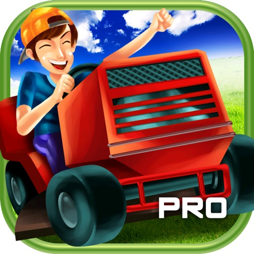 3D Lawn Mower Racing Game PRO