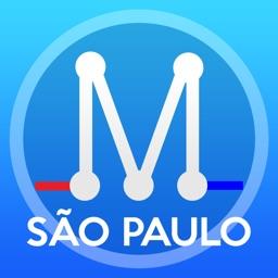 San Paulo Metro Map - São Paulo Transport Map offline