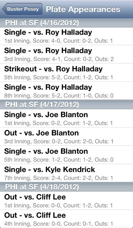Baseball Stats Pro Free screenshot-4