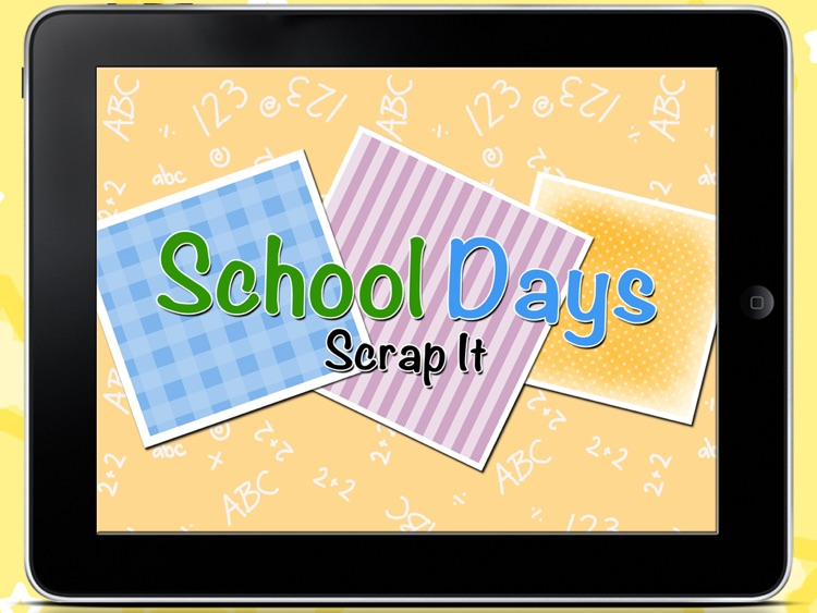 Scrap It: School Days HD