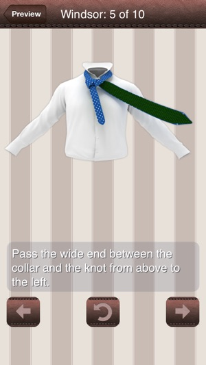 How to tie a tie 3d animated on the app store ccuart Image collections
