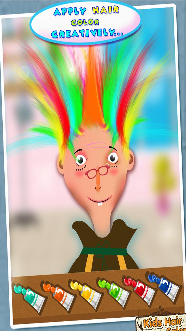 ヘアーサロン - 子供ファッションサロンのように有名なヘアスタイルメーカーを再生するのおすすめ画像3