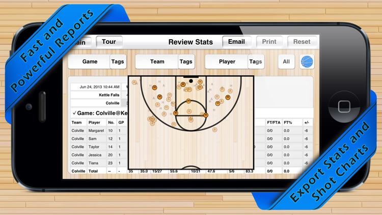 Basketball Shot Chart screenshot-3