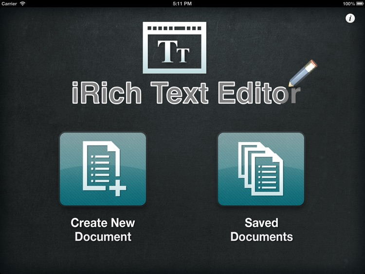 iRich Text Editor – Write, Edit and Share