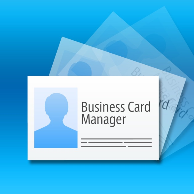 Business card manager lite on the app store for App to make business cards