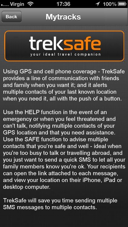 TrekSafe screenshot-3